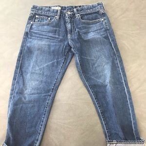 AG The Piper Crop Slouchy Slim 29 Jeans Beautiful!